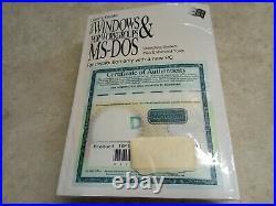 Microsoft Windows 3.11 Operating System & Manual 3.5 PC Disks Sealed