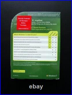 Microsoft Windows 7 Home Premium 32/64-BIT DVD GFC-00025 GUARANTEED GENUINE NEW