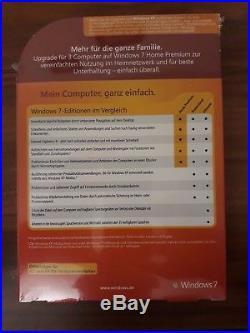 Microsoft Windows 7 Home Premium 32 / 64bit Upgrade Retailbox deutsch GFC-00238