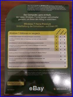 Microsoft Windows 7 Home Premium 32 / 64bit Vollversion Retail deutsch GFC-00118