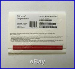 Microsoft Windows 7 Pro Professional SP1 64Bit Full Version & Hard drive