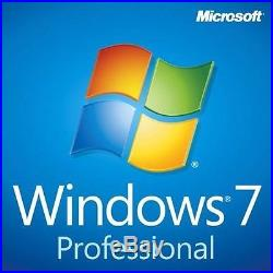Microsoft Windows 7 Professional 64bit SP1 OEM New Packaging FQC-08289
