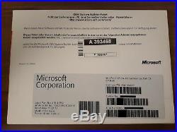 Microsoft Windows 7 Professional 64bit SP1 Vollversion deutsch FQC-08291 NEU