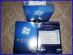 Microsoft Windows 7 Professional, SKU FQC-00129, Sealed Retail Box, 32-bit, 64-bit