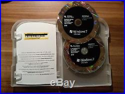 Microsoft Windows 7 ULTIMATE 32 / 64bit Vollversion deutsch Retailbox GLC-00205
