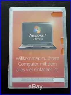 Microsoft Windows 7 ULTIMATE 64bit Vollversion deutsch OEM GLC-00740