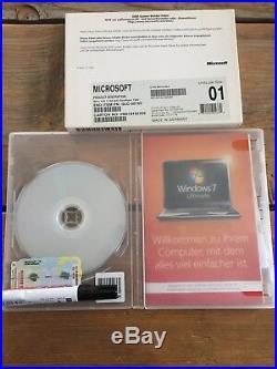 Microsoft Windows 7 Ultimate 32Bit, Deutsch mit MwSt Rechnung