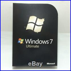 Microsoft Windows 7 Ultimate 32/64 bit Retail Full Version by free shipping