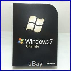 Microsoft Windows 7 Ultimate 32/64 bit Retail Full Version by free shipping