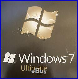 Microsoft Windows 7 Ultimate 32 AND 64 bit (Full Version DVDs)