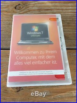 Microsoft Windows 7 Ultimate 64Bit, Deutsch mit MwSt Rechnung