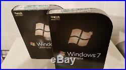 Microsoft Windows 7 Ultimate 64 & 32 discs (UPGRADE)