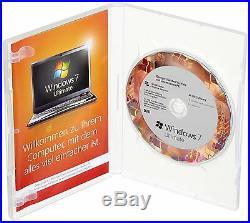 Microsoft Windows 7 Ultimate 64 Bit DEUTSCH inkl. DVD (SB / OEM)
