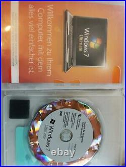 Microsoft Windows 7 Ultimate 64 bit, Deutsch