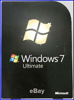 Microsoft Windows 7 Ultimate OVP deutsch 32/64 Bit DVD, Einzellizenz Software