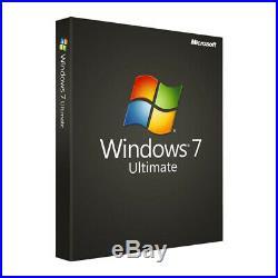 Microsoft Windows 7 Ultimate SP1 32/64 Bit key