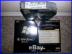 Microsoft Windows 7 Ultimate, UPGRADE, Sealed Retail Box, SKU GLC-00184
