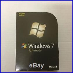 Microsoft Windows 7 Ultimate UPGRADE UK 32/64-bit DVD Origin Ireland GLC-00183
