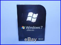 Microsoft Windows 7 Ultimate Ult FULL VERSION GLC-00182 new sealed GENUINE