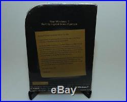 Microsoft Windows 7 Ultimate Ult GLC-01464 genuine complete SEALED new