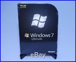 Microsoft Windows 7 Ultimate Ult Upgrade GLC-00184 new sealed GENUINE