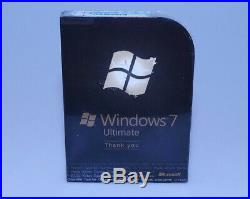 Microsoft Windows 7 Ultimate Ult Upgrade GLC-01464 new sealed GENUINE