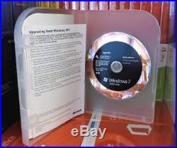 Microsoft Windows 7 Ultimate Upgrade 32/64-bit DVD Used X16-09634-01 Uk Retail