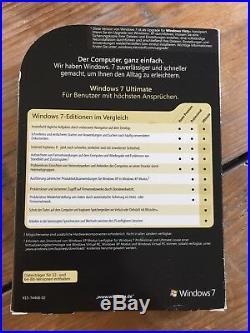 Microsoft Windows 7 Ultimate upgrade, Deutsch mit MwSt Rechnung