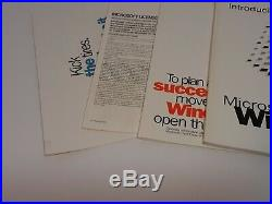 Microsoft Windows 95 Preview Program 3.5 Floppy / CD Vintage Beta Software