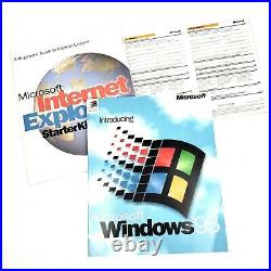 Microsoft Windows 95 for PCs Without Windows 3.5, All Original Discs and Manuals