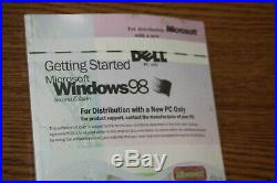 Microsoft Windows 98 Boot Disk (floppy) and CD With Product Key BOX-M