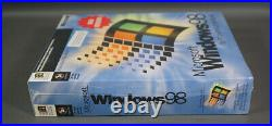 Microsoft Windows 98 Full Operating System Win 98 New Version Sealed Pack Box