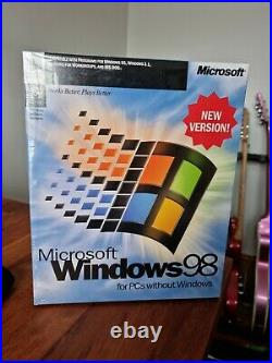Microsoft Windows 98 Original Retail Package