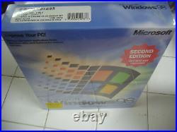 Microsoft Windows 98 Second Edition Full Operating System Win 98 Se=sealed Box=