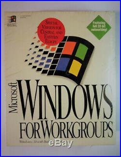 Microsoft Windows For Workgroups 3.11 Retail