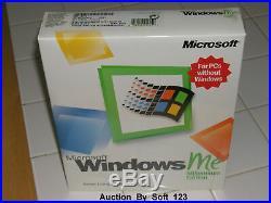 Microsoft Windows Me Millennium Edition Full Operating System Ms Win Retail Box