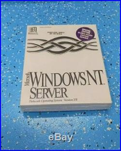 Microsoft Windows NT Server 3.51 PROMOTIONAL SAMPLE Brand New SEALED
