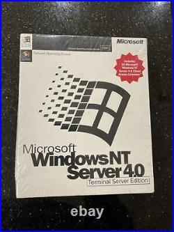 Microsoft Windows NT Server 4.0 Terminal Server Edition new sealed