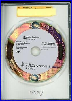 Microsoft Windows SQL Server 2008 Standard