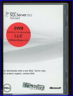 Microsoft Windows SQL Server 2012 Standard