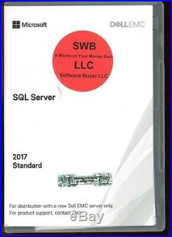 Microsoft Windows SQL Server 2017 Standard