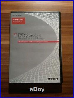 Microsoft Windows SQL Small Business Server 2008 R2 Standard 32 & 64Bit Englisch