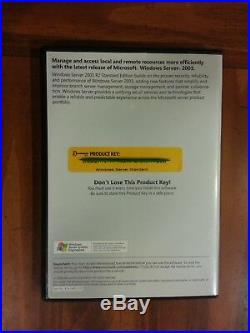 Microsoft Windows Server 2003 R2 Standard 5 CAL RETAIL