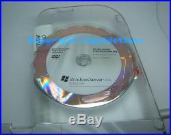 Microsoft Windows Server 2008 Enterprise 25 client English, DVD boxed software