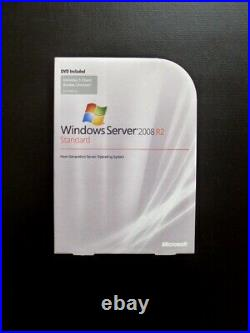 Microsoft Windows Server 2008 R2 Standard 5 CAL 64-bit P73-04754 BOXED DVD