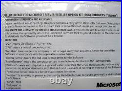Microsoft Windows Server 2008 R2 Standard DVD 589275-B22 (BRAND NEW) HP ROK