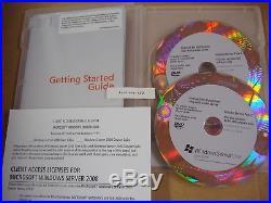Microsoft Windows Server 2008 Standard 64 & 32 Bit DVD withSP2 with10 CAL=BRAND NEW=
