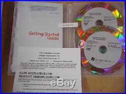 Microsoft Windows Server 2008 Standard 64 & 32 Bit DVD withSP2 with5 CAL =BRAND NEW=