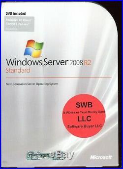 Microsoft Windows Server 2008 Standard R2 10 CAL