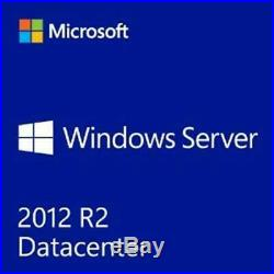 Microsoft Windows Server 2012 R2 Datacenter Retail COA with 5 CAL's & MS USB